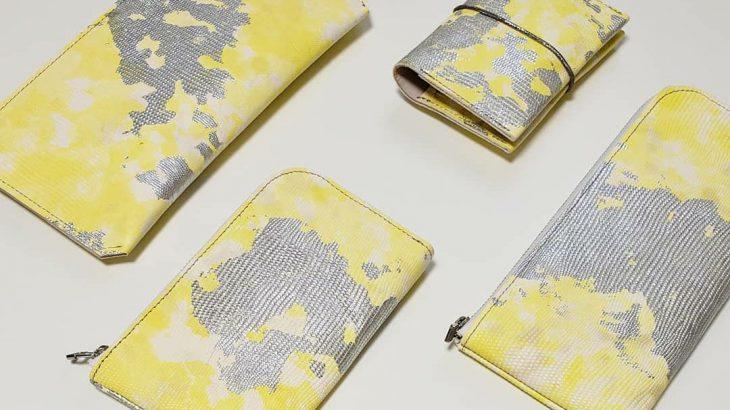 注目カラー イエローをさり気なく楽しむ財布&革小物 「エヌナンバー」ポップアップイベント 名古屋で開催中