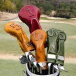 ゴルフクラブ用のレザーヘッドカバーがヒット中の「Mi-cours Golf」